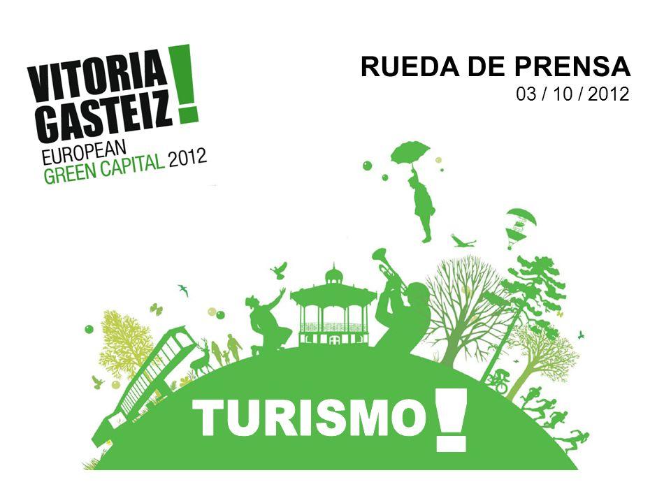 RUEDA DE PRENSA 03 / 10 / 2012 ! TURISMO