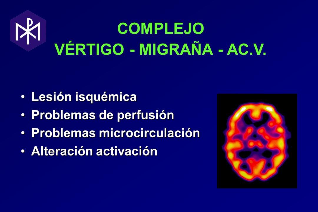 COMPLEJO VÉRTIGO - MIGRAÑA - AC.V.
