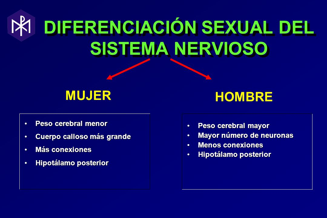 DIFERENCIACIÓN SEXUAL DEL SISTEMA NERVIOSO