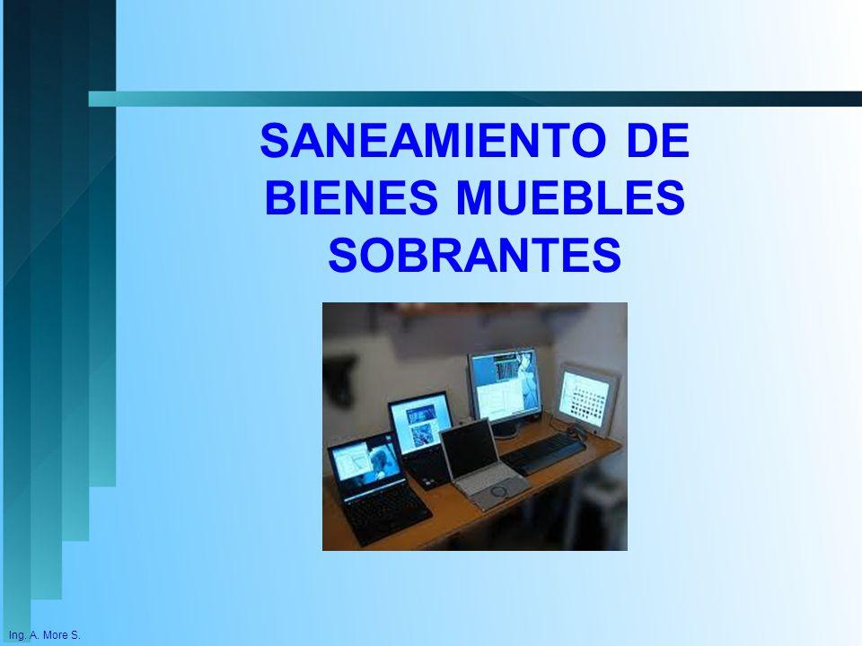 Proceso de saneamiento contable en el sector publico ppt for Usucapion bienes muebles