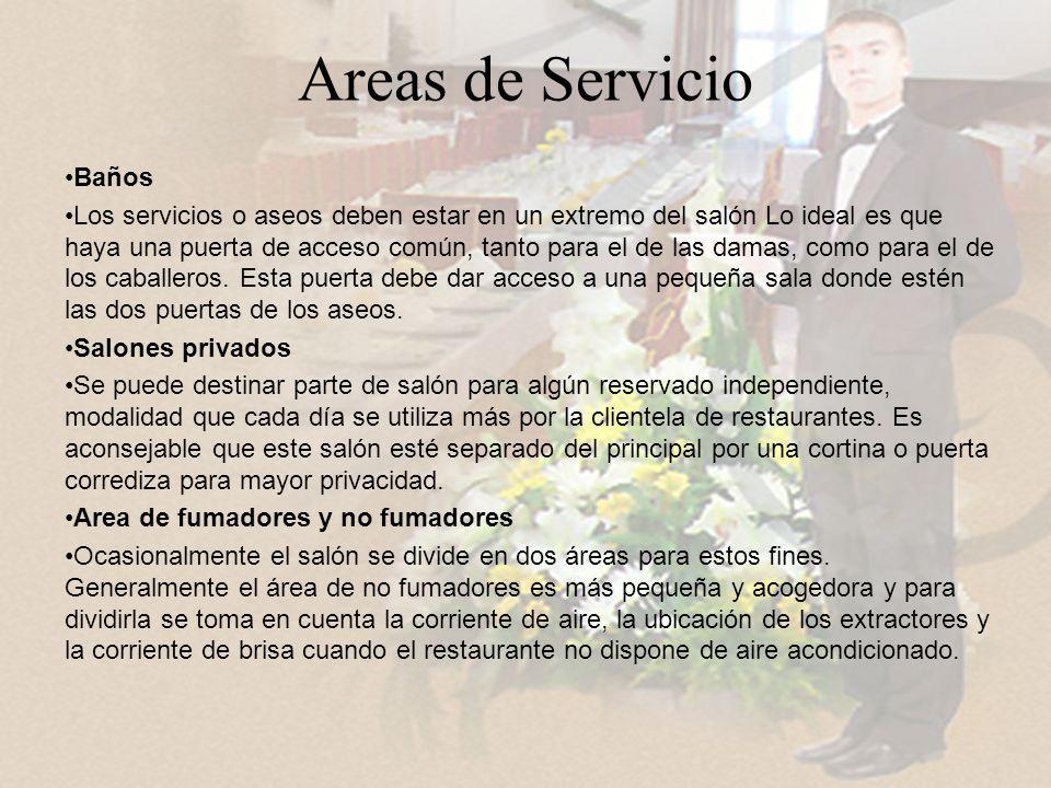Areas de Servicio Baños