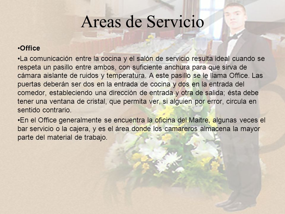 Areas de Servicio Office