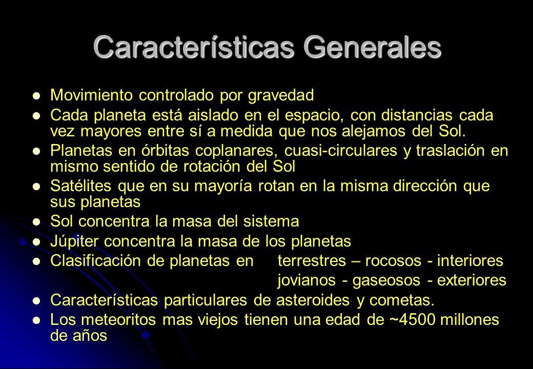 Dr gonzalo tancredi facultad de ciencias ppt descargar - Caracteristicas de los planetas interiores ...