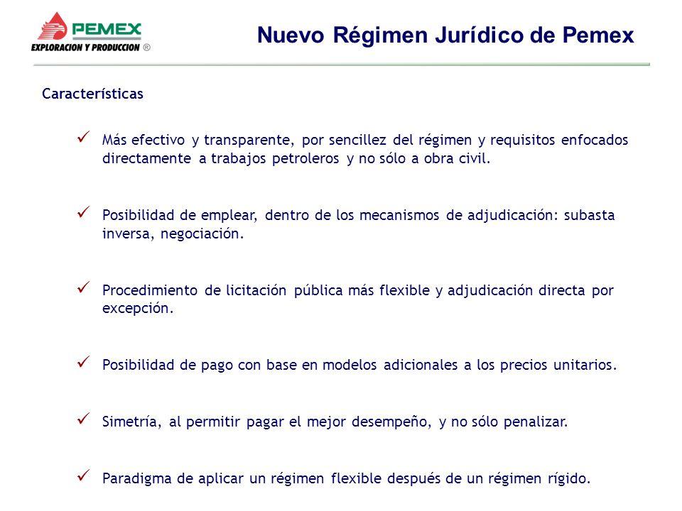 Nuevo Régimen Jurídico de Pemex