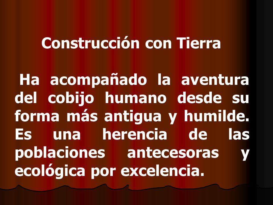 Construcción con Tierra
