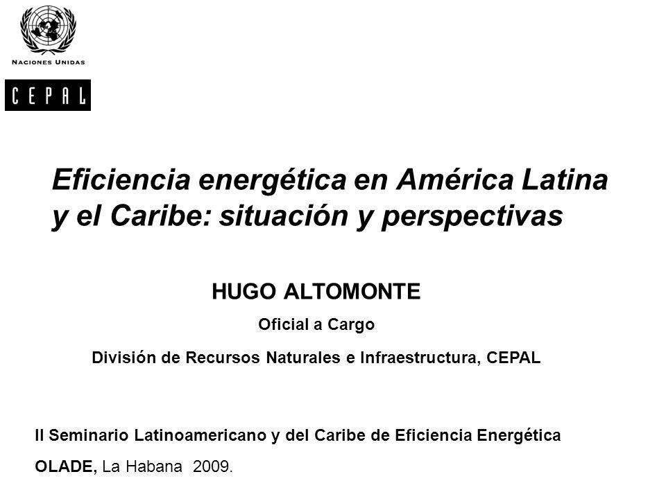 División de Recursos Naturales e Infraestructura, CEPAL