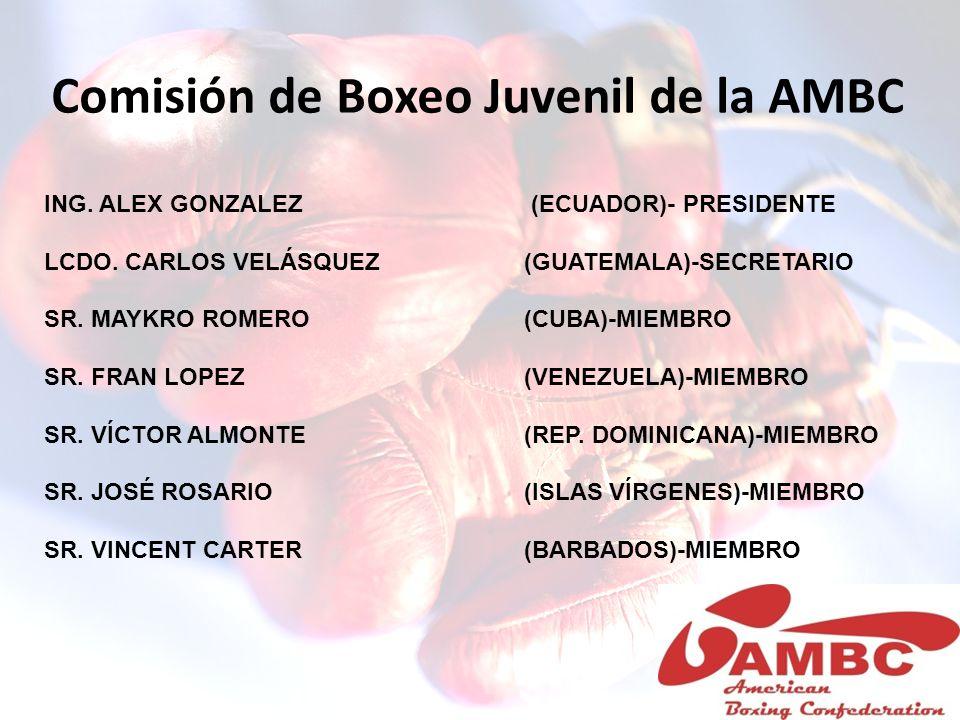 Comisión de Boxeo Juvenil de la AMBC