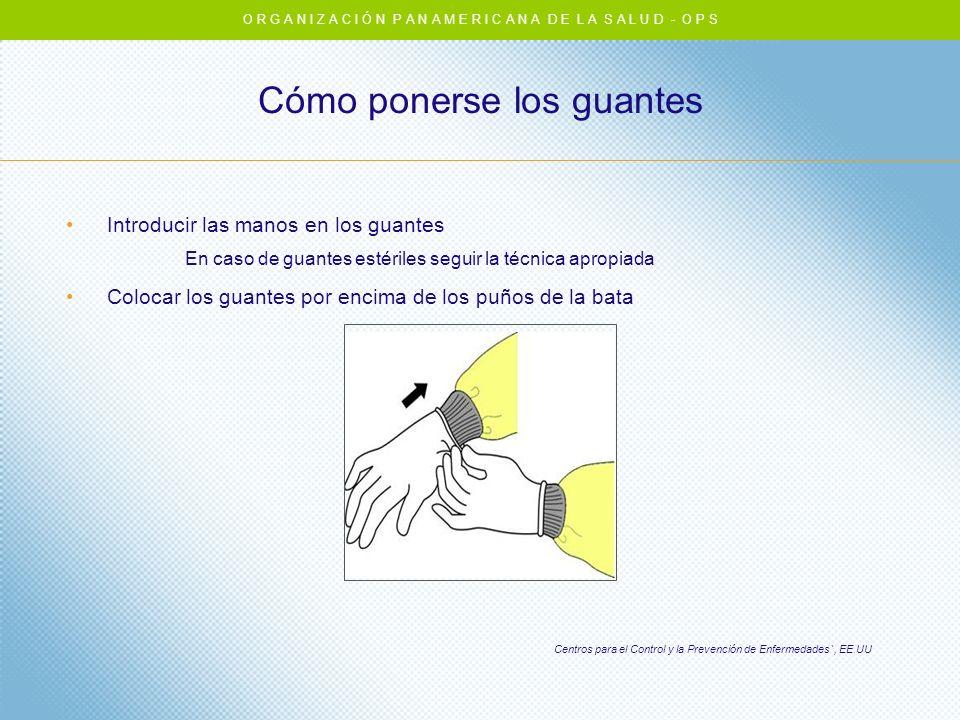 Cómo ponerse los guantes
