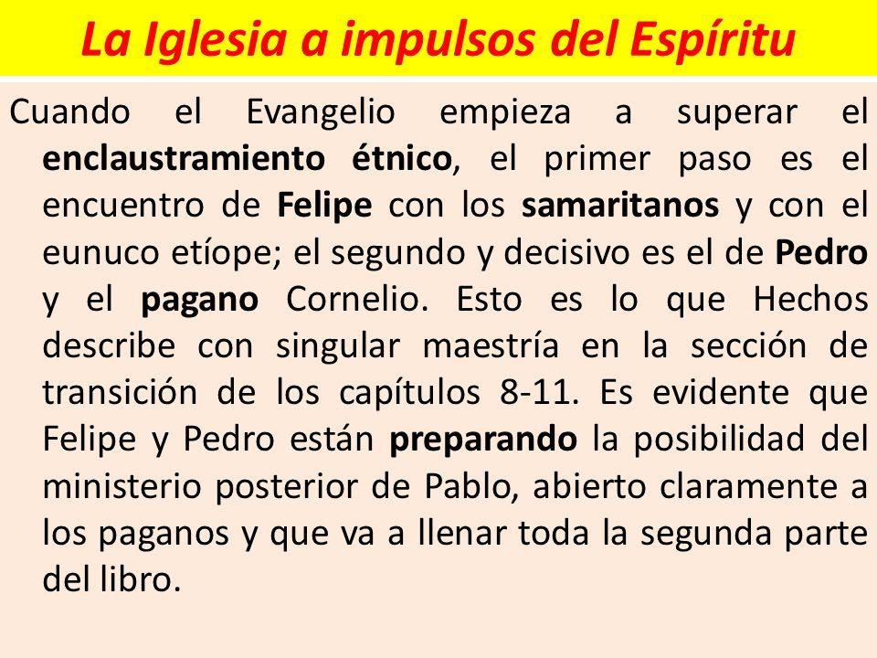 La Iglesia a impulsos del Espíritu
