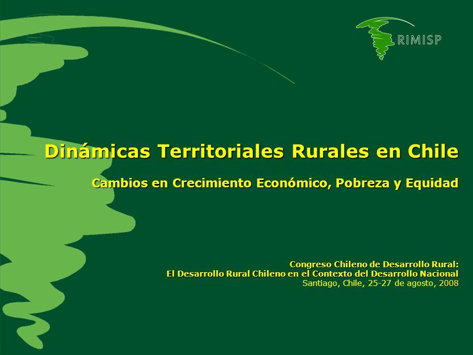 Dinámicas Territoriales Rurales en Chile