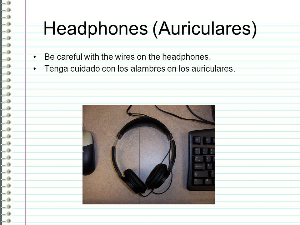 Headphones (Auriculares)