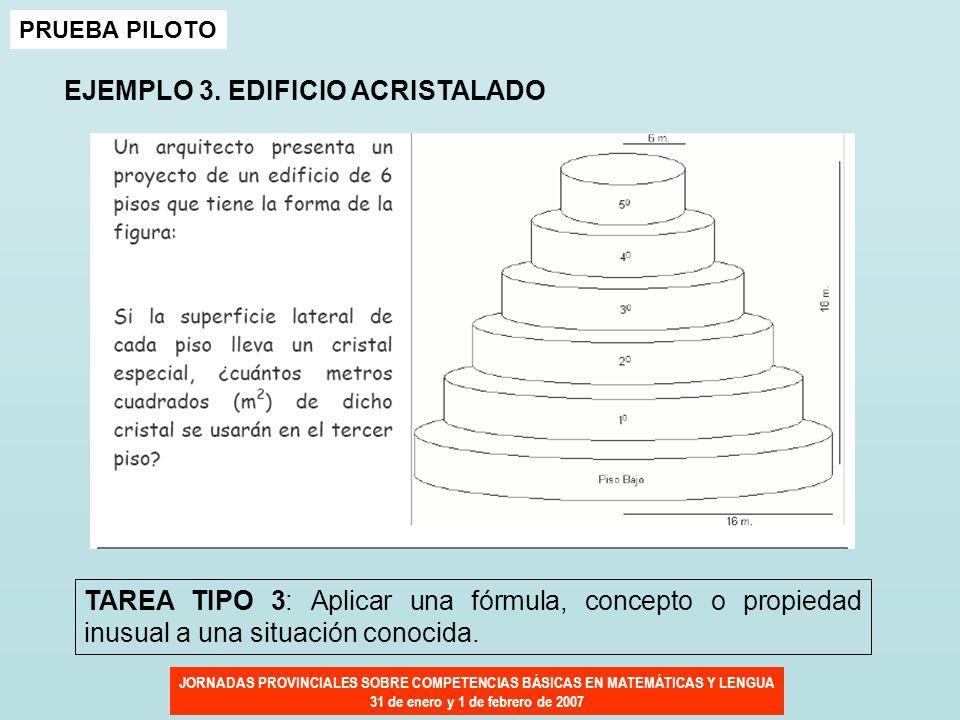 EJEMPLO 3. EDIFICIO ACRISTALADO