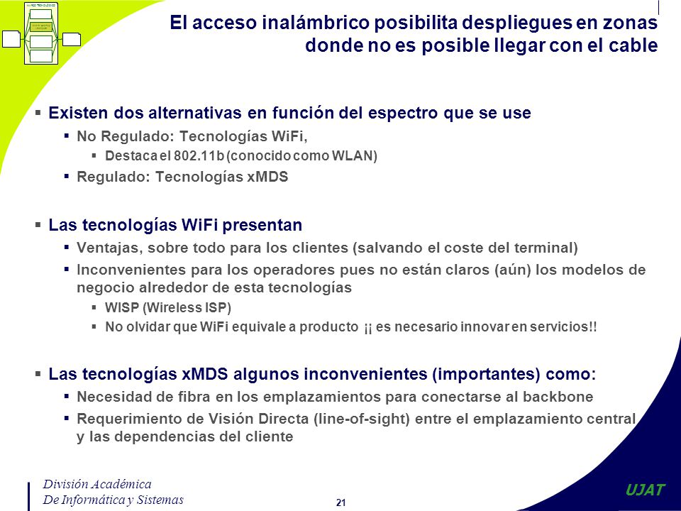 WLAN: Redes de área local b