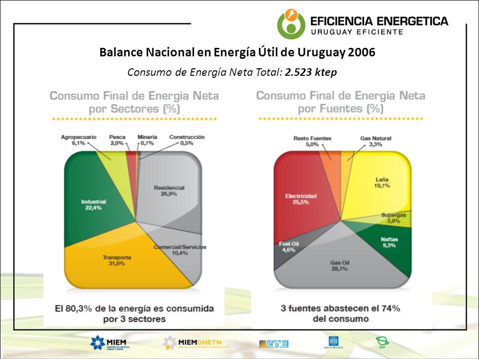 Balance Nacional en Energía Útil de Uruguay 2006