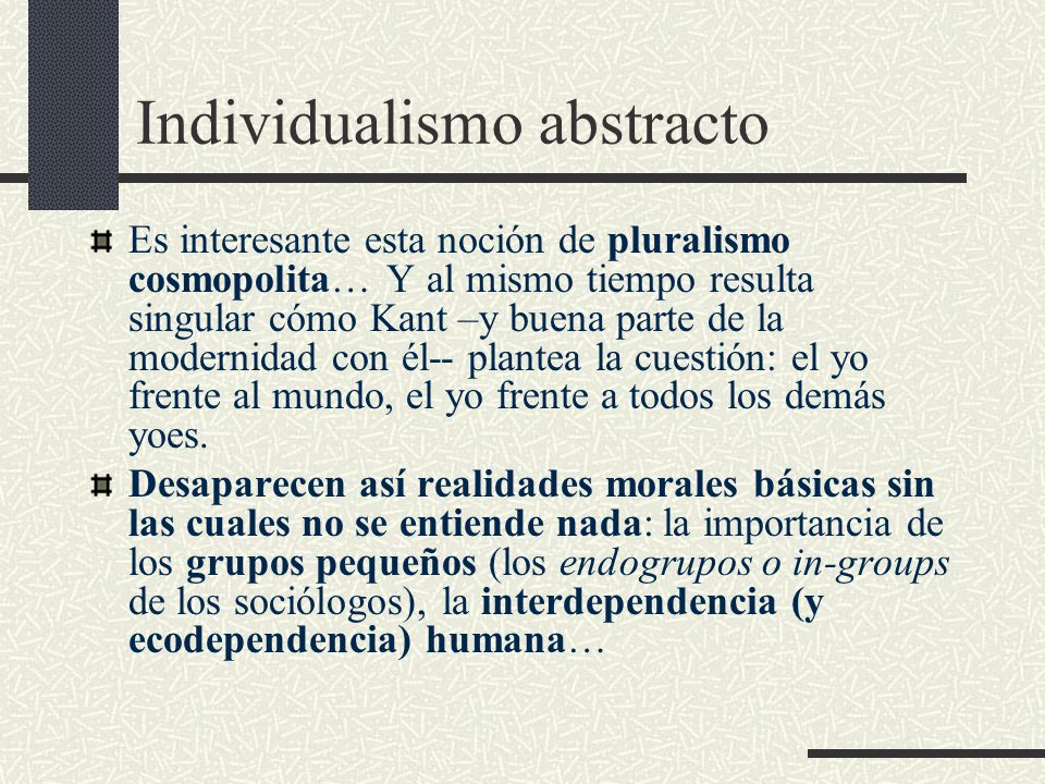 Individualismo abstracto