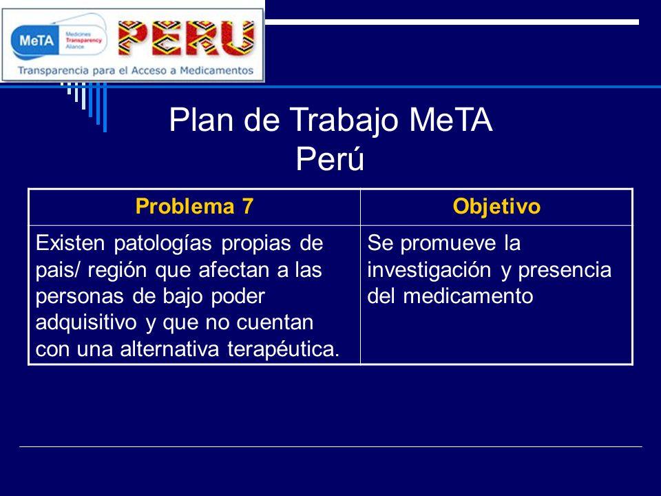 Plan de Trabajo MeTA Perú