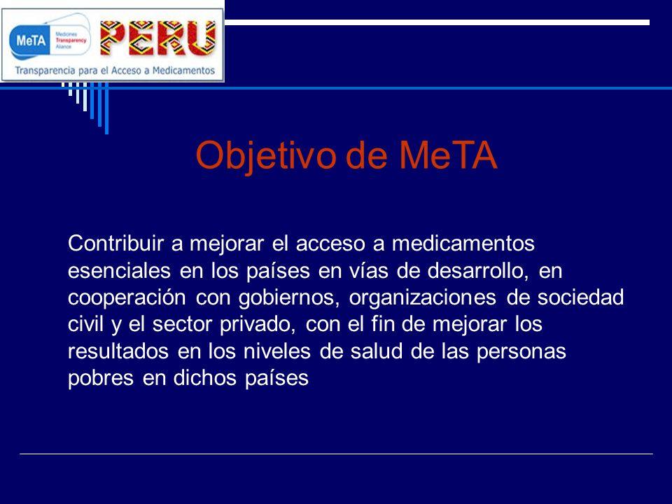 Objetivo de MeTA