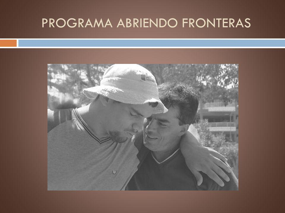 PROGRAMA ABRIENDO FRONTERAS
