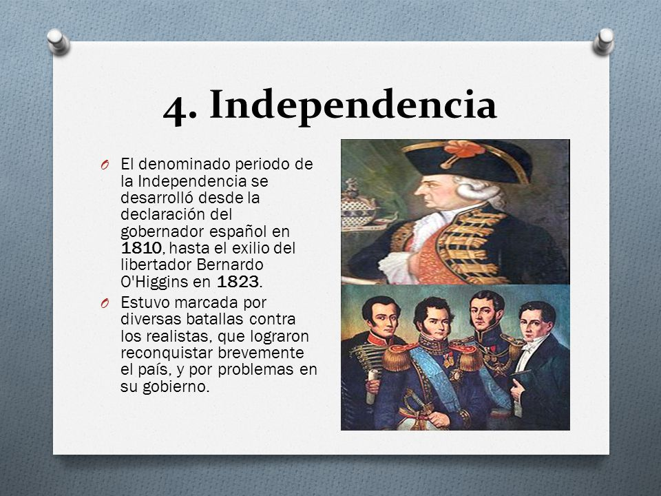 4. Independencia