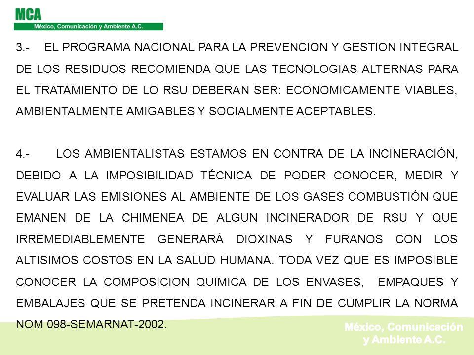 México, Comunicación y Ambiente A.C.