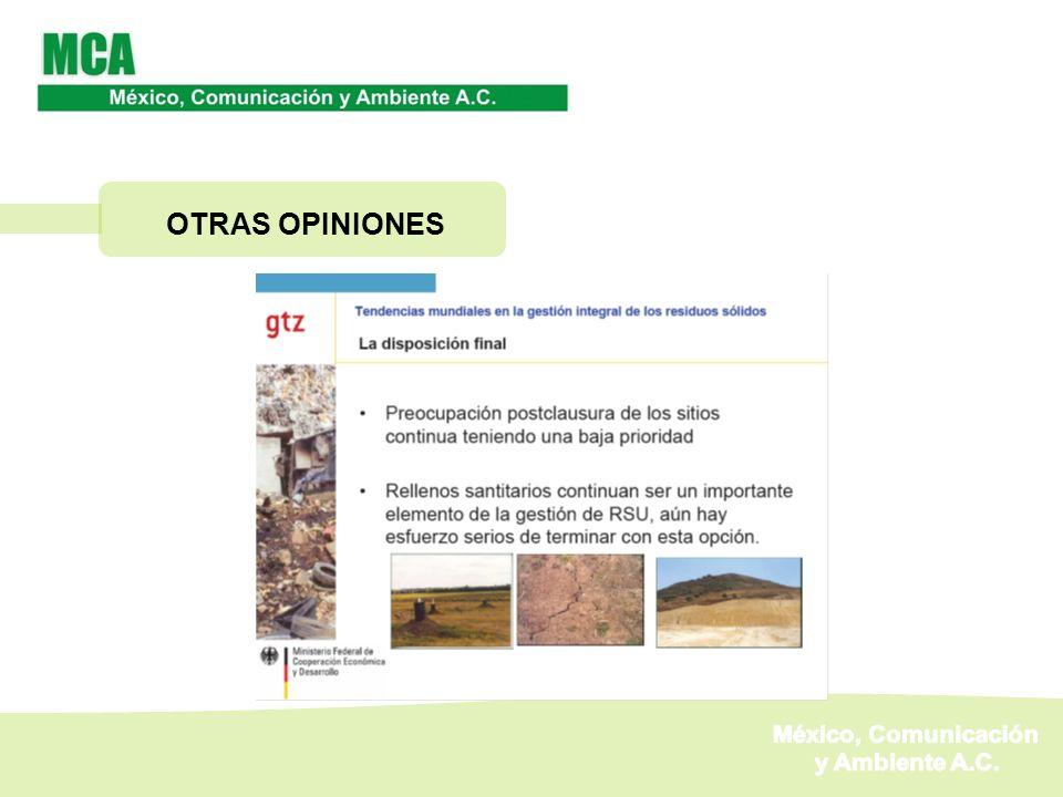 OTRAS OPINIONES México, Comunicación y Ambiente A.C.