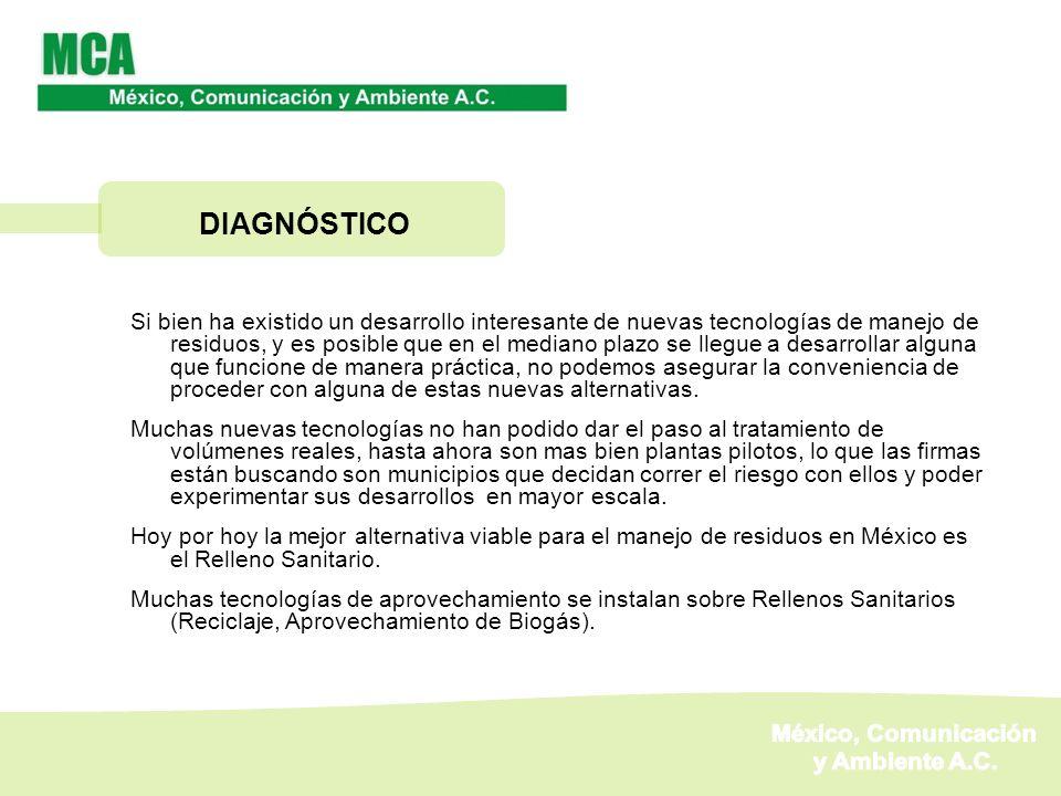 DIAGNÓSTICO México, Comunicación y Ambiente A.C.