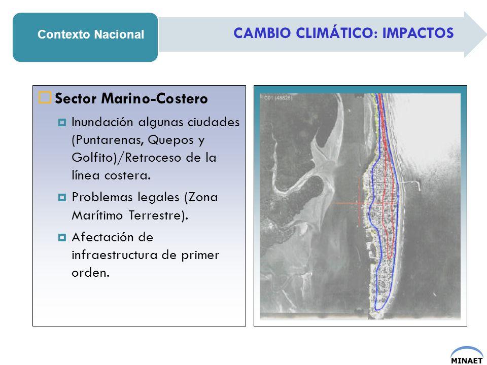 Sector Marino-Costero