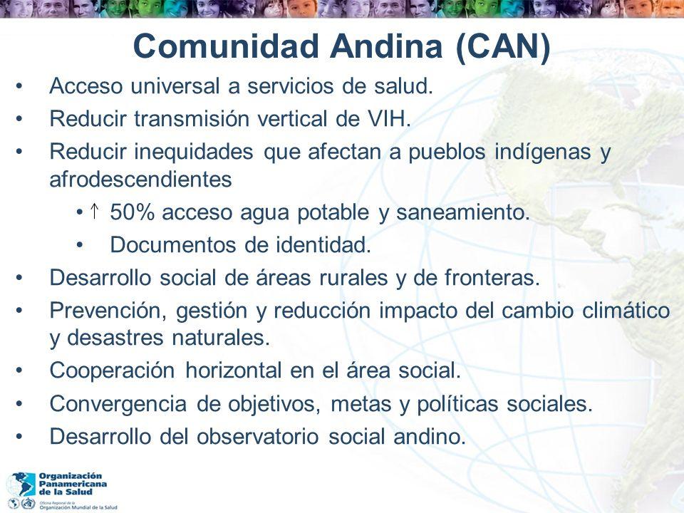 Comunidad Andina (CAN)