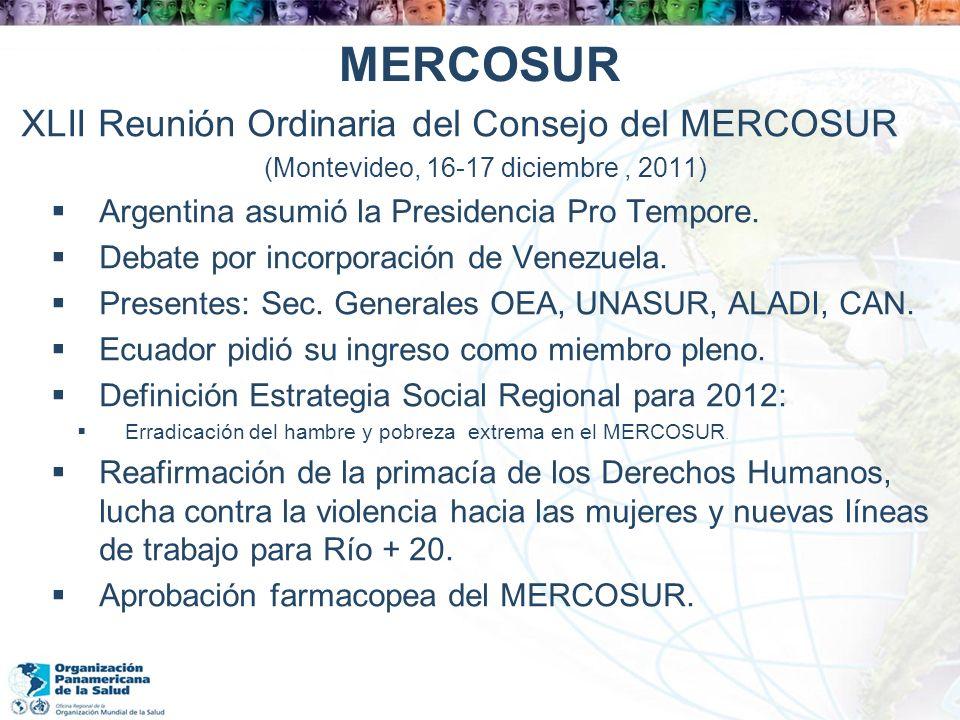 (Montevideo, 16-17 diciembre , 2011)