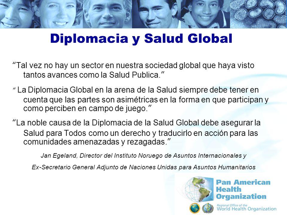 Diplomacia y Salud Global