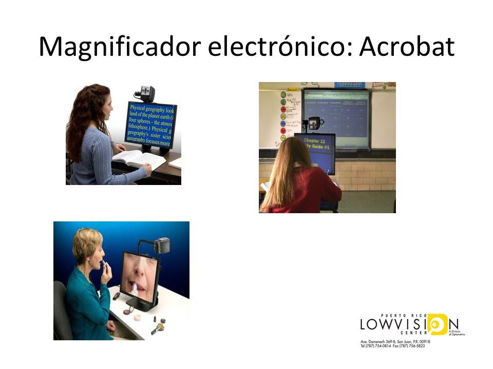 Magnificador electrónico: Acrobat