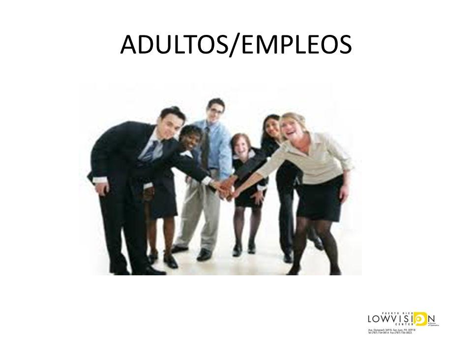 ADULTOS/EMPLEOS