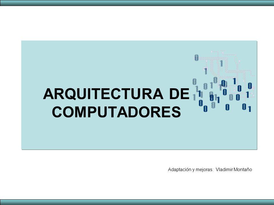 Arquitectura de computadores ppt descargar for Arquitectura de computadores