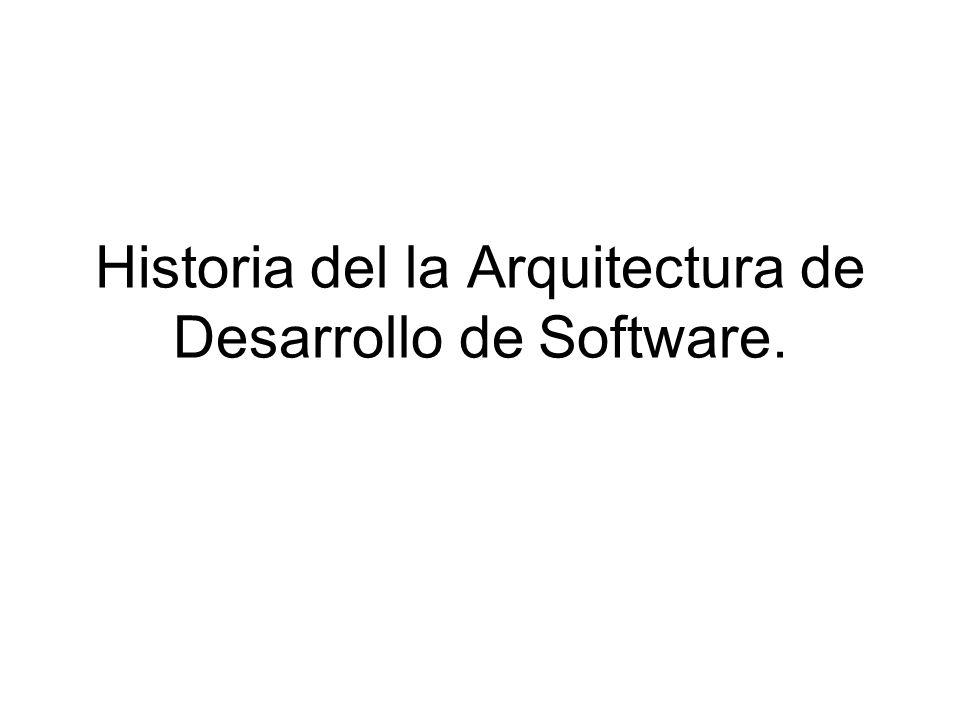 arquitecturas de desarrollo de software ppt descargar