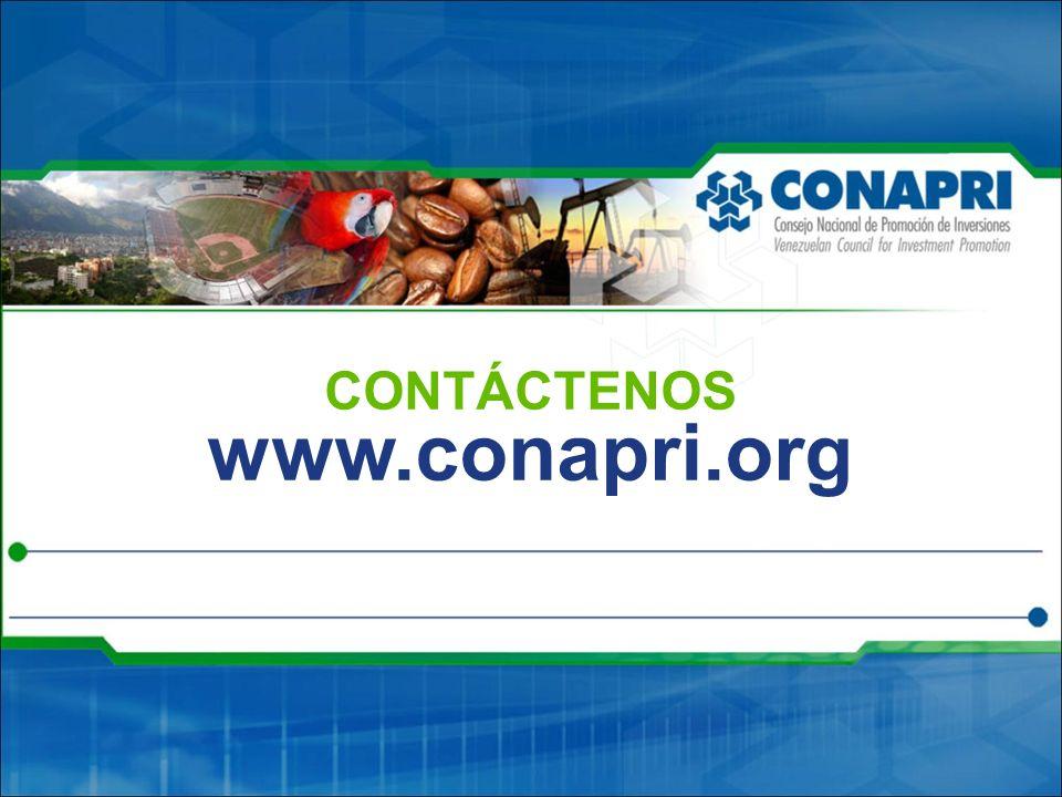 CONTÁCTENOS www.conapri.org 28