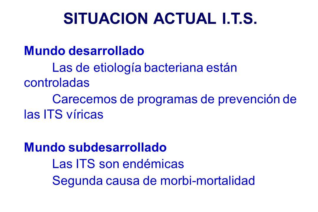 SITUACION ACTUAL I.T.S. Mundo desarrollado