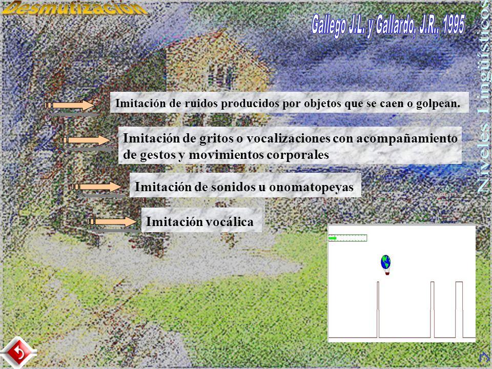 Gallego J.L. y Gallardo, J.R., 1995