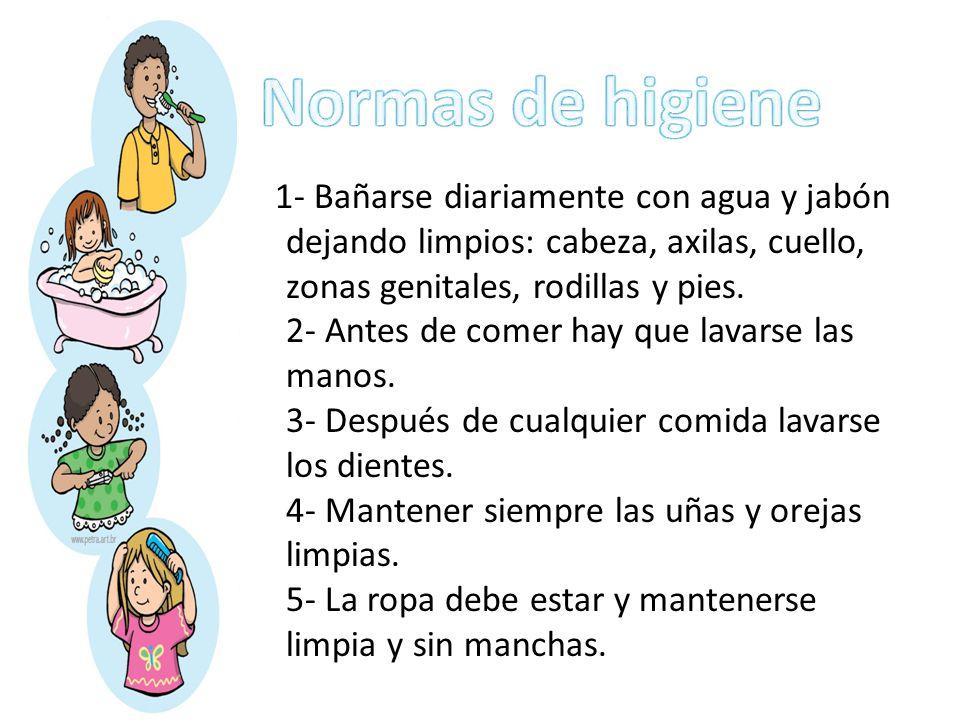 Higiene personal en preescolar ppt descargar for Normas de higiene personal en la cocina