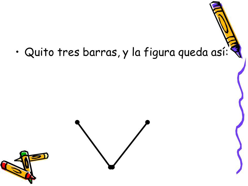 Quito tres barras, y la figura queda así: