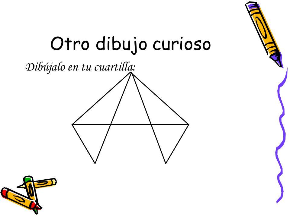 Otro dibujo curioso Dibújalo en tu cuartilla: