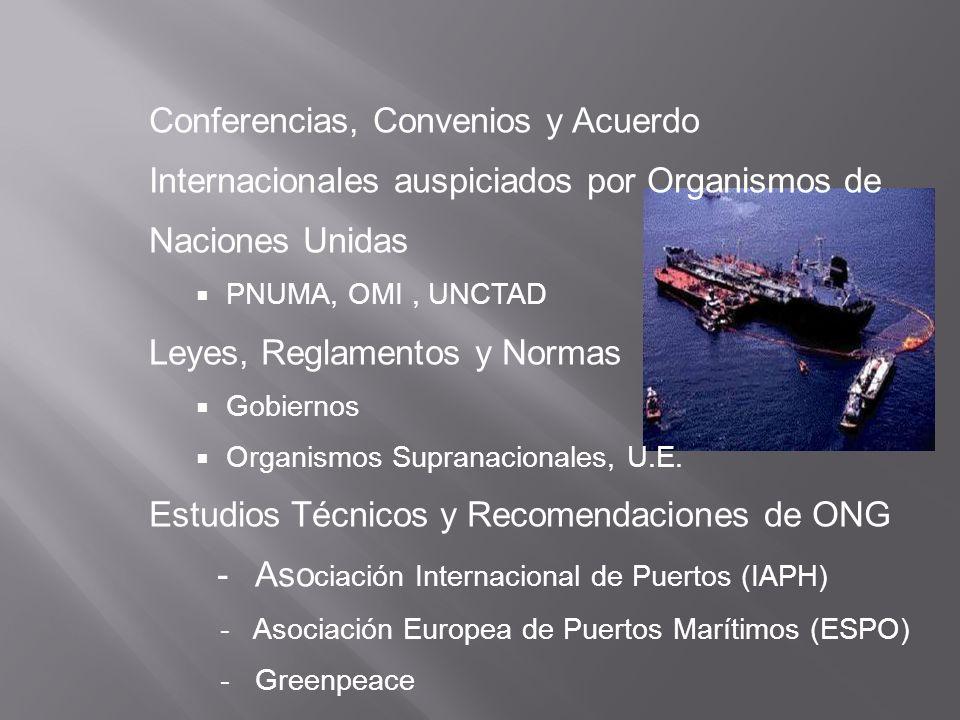 Conferencias, Convenios y Acuerdo