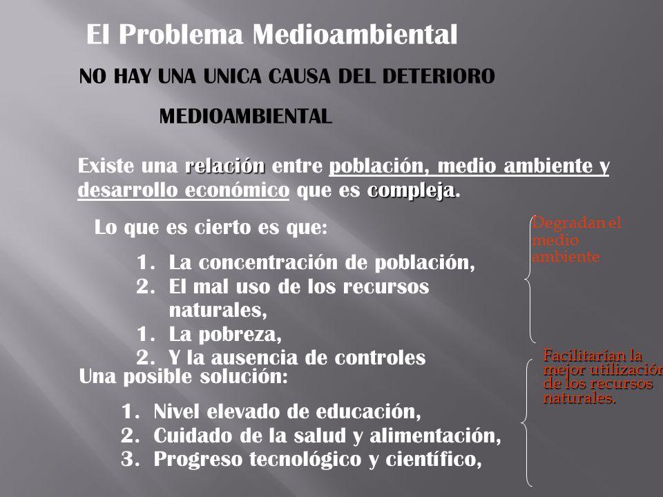 El Problema Medioambiental