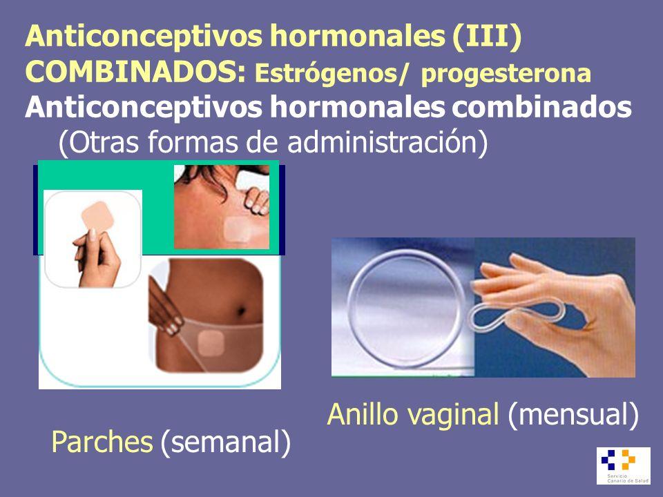 Anticonceptivos hormonales (III)