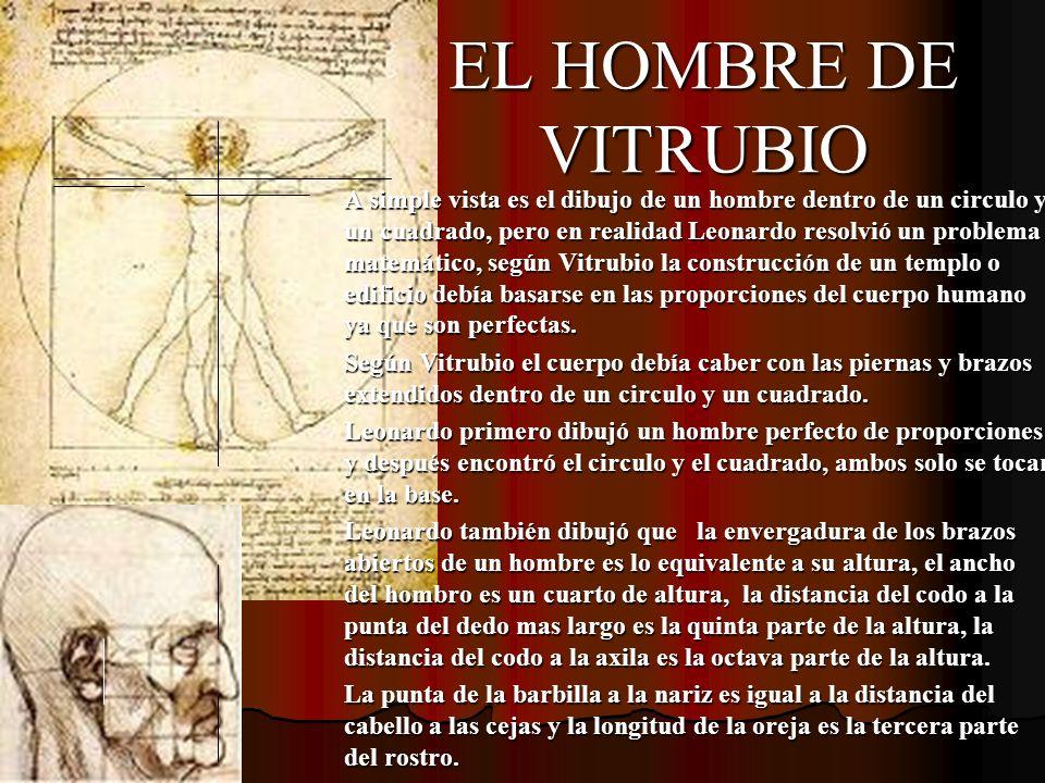EL HOMBRE DE VITRUBIO