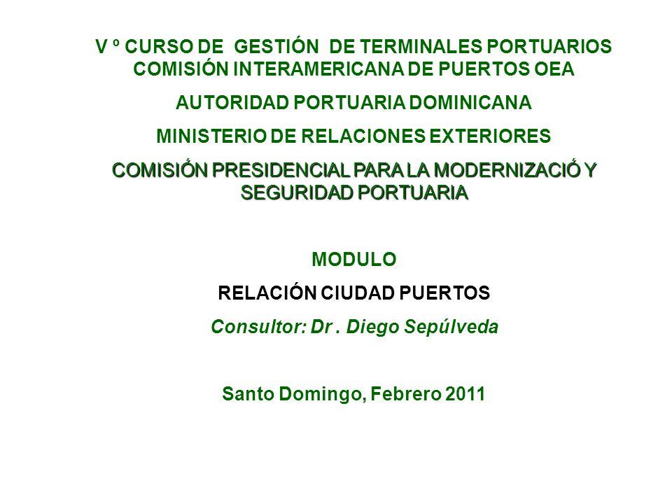 AUTORIDAD PORTUARIA DOMINICANA MINISTERIO DE RELACIONES EXTERIORES