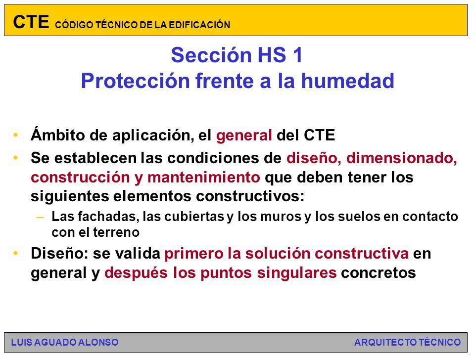 Sección HS 1 Protección frente a la humedad