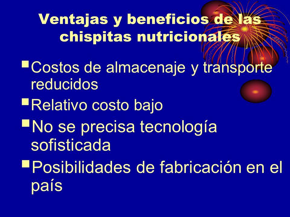 Ventajas y beneficios de las chispitas nutricionales