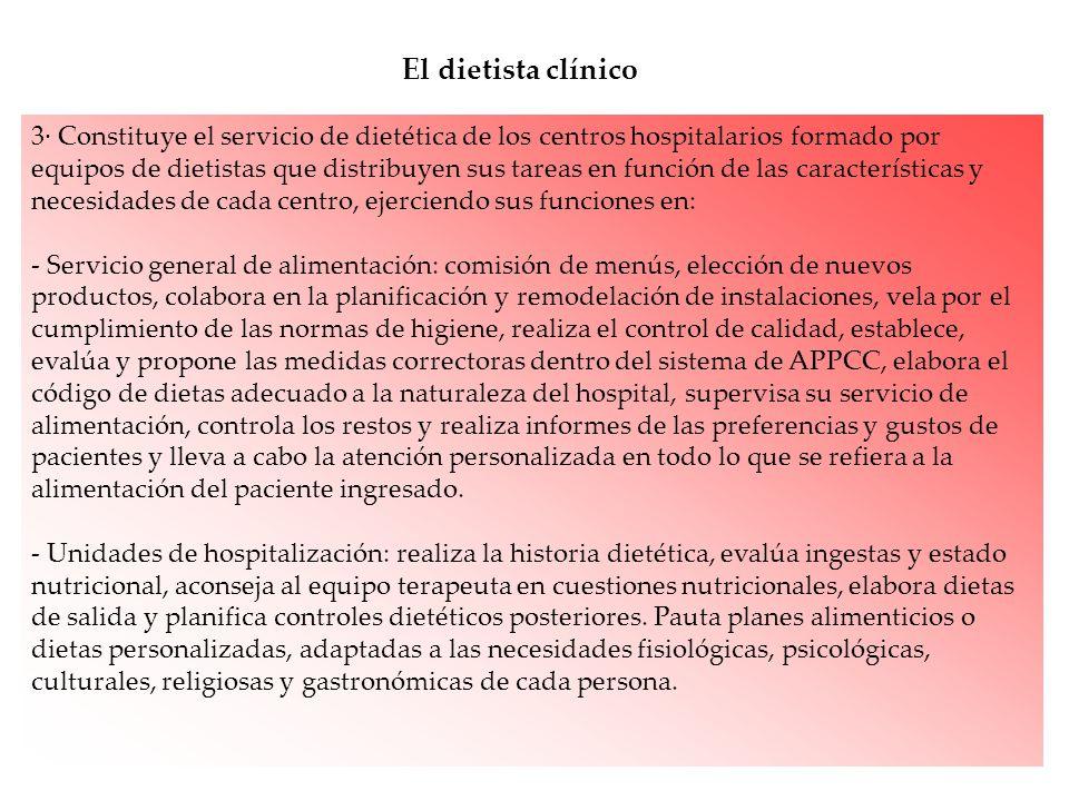 El dietista clínico