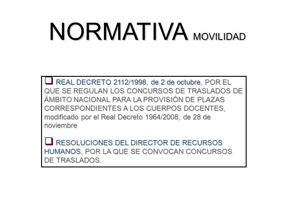 NORMATIVA MOVILIDAD
