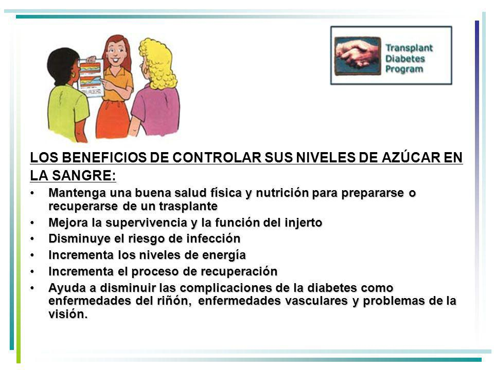 LOS BENEFICIOS DE CONTROLAR SUS NIVELES DE AZÚCAR EN LA SANGRE:
